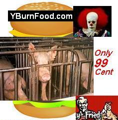 YBurnFood.com or YCookFood.com 99Cents Torture